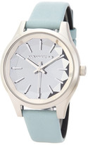 Karl Lagerfeld Women&s Belleville Leather Strap Watch
