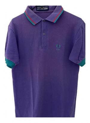 Comme des Garcons Purple Cotton Polo shirts