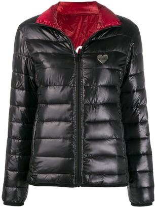 Love Moschino Giubbino reversible padded jacket