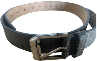 Givenchy Grey Leather Belts