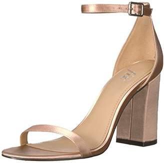 Amazon Brand - The Fix Women's Gracie Block Heel Strappy Sandal Heeled