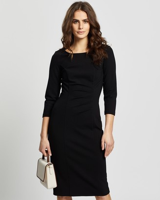 Review Tori Ponte Dress