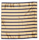 Stefano Ricci Striped Silk Pocket Square