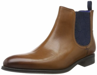 Ted Baker Men's TRAVIC Chelsea Boots Brown (Tan) 6 UK (40 EU)