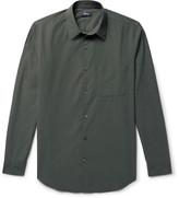 Theory Rammy Cotton-Poplin Shirt
