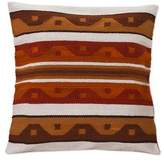 Wool cushion cover, 'Golden Surf'
