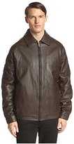 Nautica Men's Lamb Zip Front Bomber Jacket