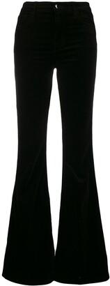 J Brand Flared Trousers