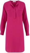 Amanda Wakeley Bayside Hibiscus Long Silk Shirt