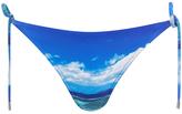Orlebar Brown Women's Nicoletta Hulton Getty Mustique Mystique Bikini Top Blue
