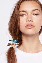 Free People Metallic Bow Hair Ties
