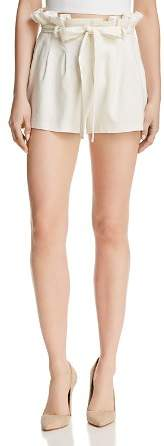 Alice + Olivia Laurine Paperbag-Waist Shorts