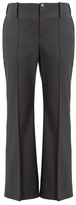 Balenciaga Kick-flare stretch-wool trousers