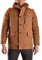 Geospirit Men's Brown Polyester Outerwear Jacket.