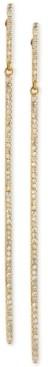 Effy D'ro by Diamond Long Linear Drop Earrings (1/3 ct. t.w.) in 14k Gold