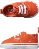 Vans Tots Authentic V Lace Shoe Orange