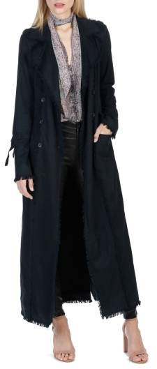 Paige Women's Norma Bell Sleeve Trench Coat