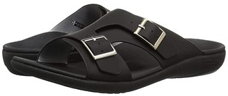 Spenco Brighton Slide Sandal (Black) Women's Shoes