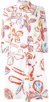 Peter Pilotto batik print shirt dress - women - Cotton/Spandex/Elastane - 8
