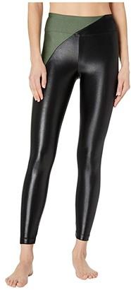 Koral Chase High-Rise Limitless Plus Leggings (Croco/Black) Women's Casual Pants