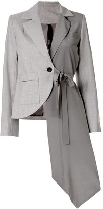 Taylor Slide asymmetric blazer