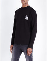 Cheap Monday State Skull-print Cotton Sweatshirt