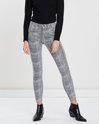 Dorothy Perkins Snake Print Darcy Jeans