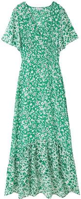 Lily & Lionel Sage Dress Blossom Green - S/UK10