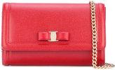 Salvatore Ferragamo Vara flap bag - women - Leather - One Size