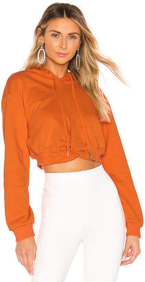 superdown Candice Cropped Hoodie