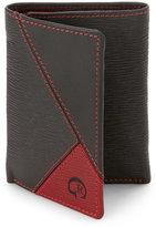 Robert Graham Brown & Red Tandu Tri-Fold Wallet