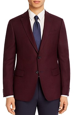 Ermenegildo Zegna Micro-Check Slim Fit Sport Coat