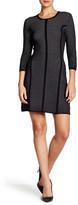 Rachel Roy Jacquard Mesh Sweater Dress