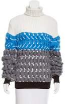 Alexander Wang Striped Turtleneck Sweater