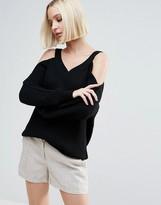 Vero Moda Cold Shoulder Sweater