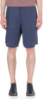 Oliver Spencer marl linen shorts