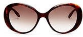 Moschino Scattered Logo Oval Sunglasses, 56mm