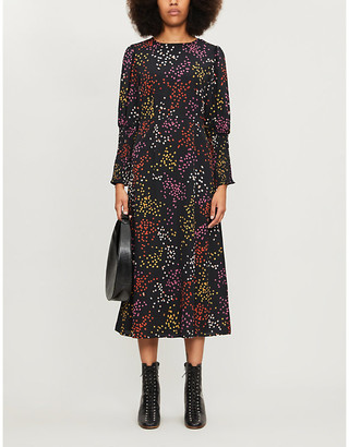 NEVER FULLY DRESSED Delores crepe dress