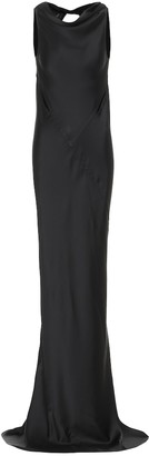 Rick Owens Skorpio hammered-satin gown