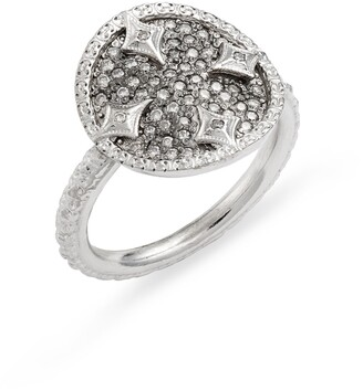 Armenta New World Pave Disc Ring