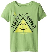 Life is Good Happy Camper Tent CrusherTM Tee (Toddler)