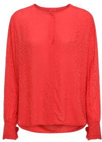 Sass & Edge - Red Lipstick Project Aj Dikte Shirt - XS - Red