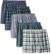 Fruit of the Loom Men's Tartan Boxer