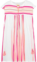 Lemlem Elsi Striped Cotton-blend Gauze Kaftan - Pink