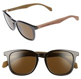 BOSS Men's 843/s 52Mm Sunglasses - Black/ Brown