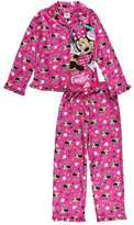 """Komar Kids Minnie Mouse Big Girls' """"I Love Music"""" 2-Piece Pajamas - /multi, 7 - 8"""