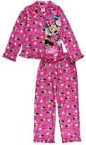 "Komar Kids Minnie Mouse Little Girls' ""I Love Music"" 2-Piece Pajamas - /multi, 4 - 5"