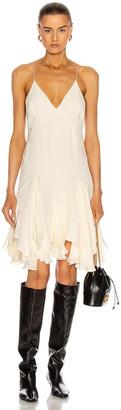 KHAITE Harlequinn Dress in Ivory | FWRD