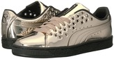 Puma Basket XL Lace Metallic Women's Shoes