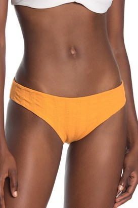 Onia Lily Embossed Striped Hipster Bottoms